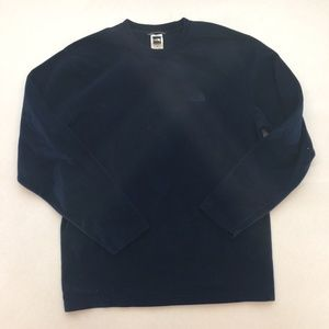 THE NORTH FACE MENS BLUE SWEATER SIZE L